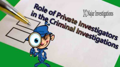 Private Criminal Investigation Stories to Educate the Public, The Role of Private Investigators in the Criminal Investigations Field