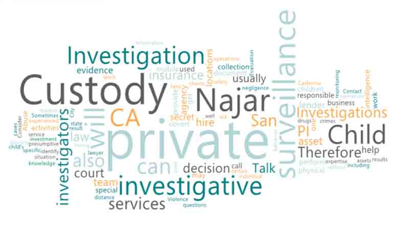 Hire Private Investigator CA for Child Custody Investigation