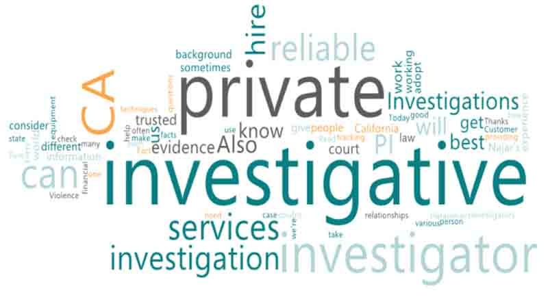 Hire a reliable investigator for private investigative Tasks at Najar Investigations agency in the United States