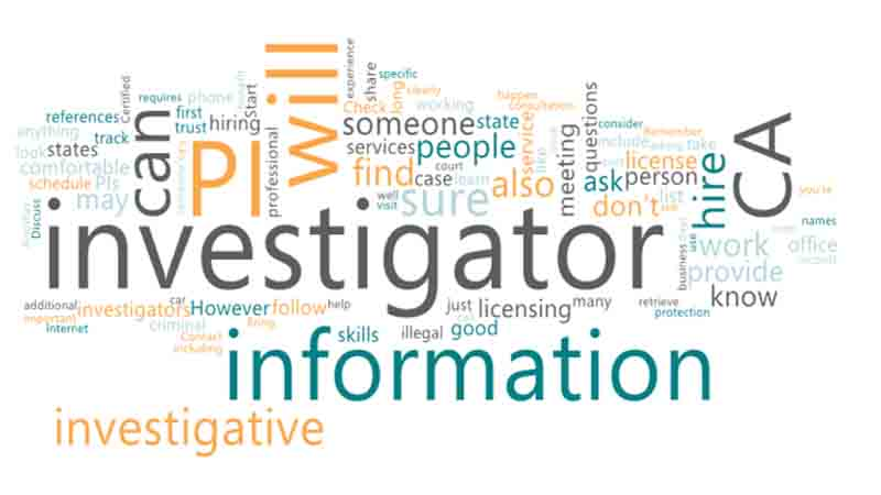 How to Hire a Private Investigator CA for Investigative jobs