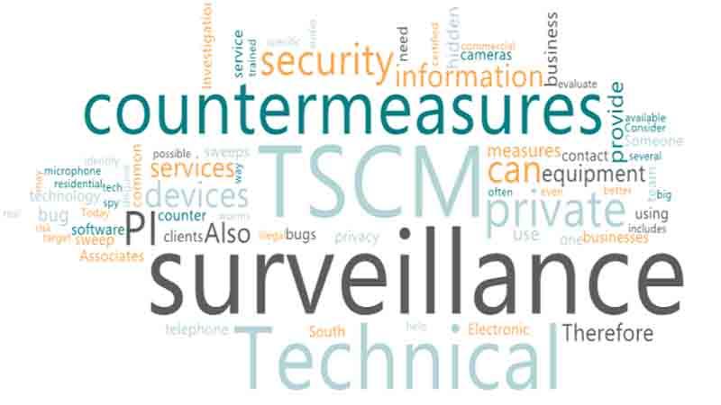 Hire PI for Technical Surveillance Countermeasures (TSCM)