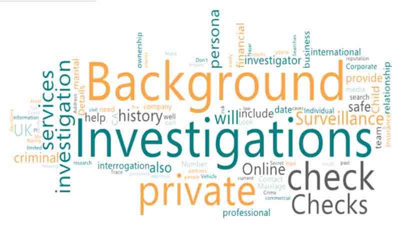Hire a Private investigator CA in UK for Background check