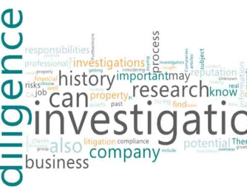 A Due Diligence Investigation and When Due Diligence needed?