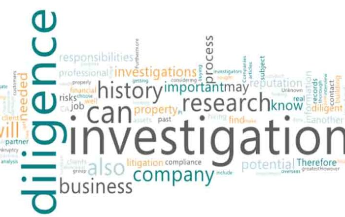 A Due Diligence Investigation and When Due Diligence needed