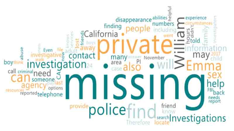 Hire a Private Detective for Missing Persons in Los Angeles