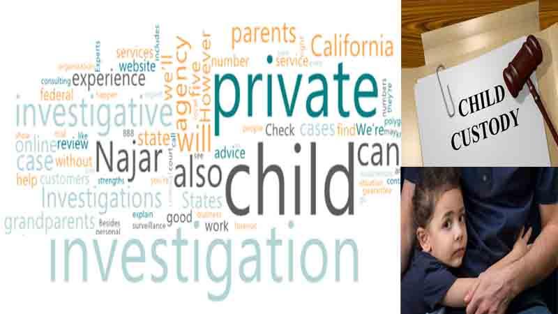 Hire Private investigator CA for Child Custody Investigation