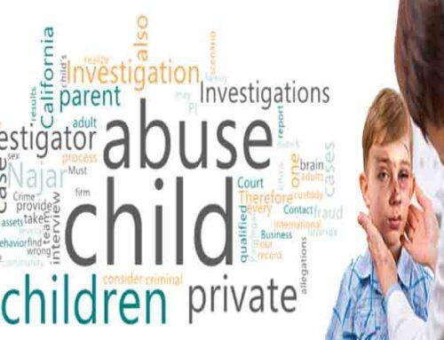 Private Investigator CA for Abuse or Molestation of Children