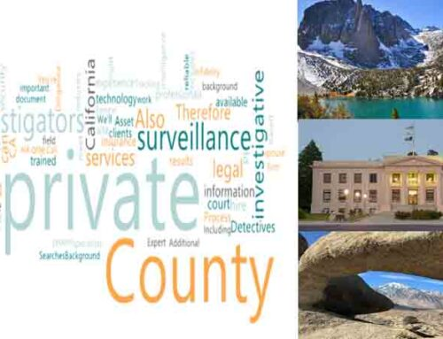 A Private Detective in Inyo County for Private Surveillance