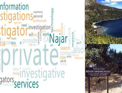 Private Investigator for Missing Persons in El Dorado County