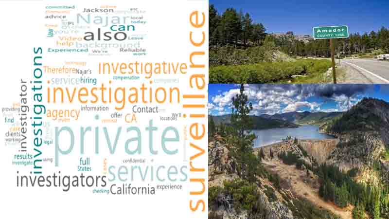 Private Surveillance Investigation Services in Amador County
