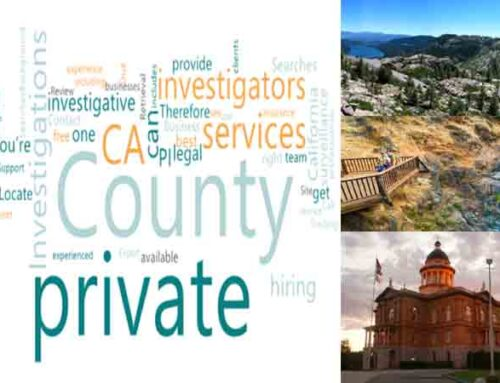 A private investigator CA for Investigation in Placer County