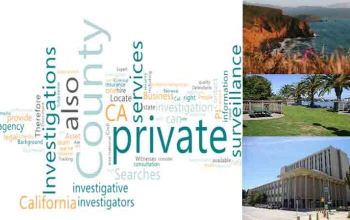 Private Investigator CA in San Mateo County for Surveillance