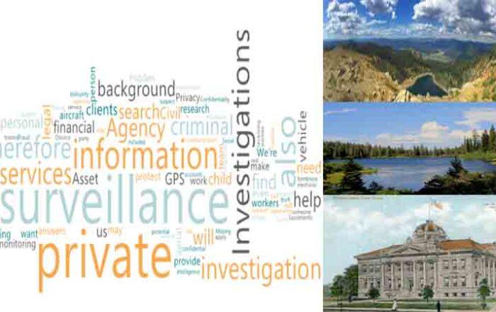 A private investigator ca for Surveillance in Plumas County