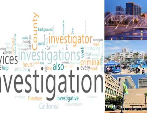 Private investigator for investigation in San Diego County